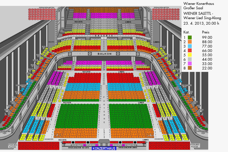 Theater Floor Plan Saalplan Konzerthaus Gro 223 Er Saal